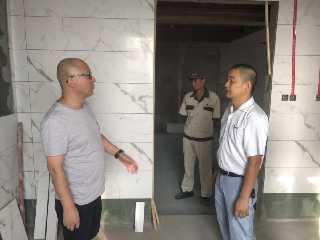 集团董事长亲临武汉视察工作并指导授课